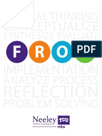 FROG Critical Thinking Brochure
