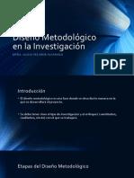 Diseño Metodológico en La Investigación