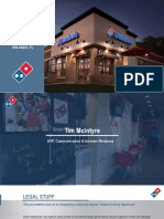 DPZ Dominos Investor Day 2018