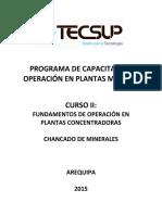 2. Fundamentos de Operaciones en Plantas Concentradoras