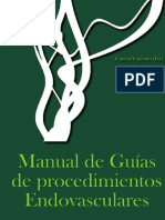 Manual de Guias de Procedimientos Endovasculares
