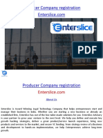 Producer Company Registration - Enterslice.com