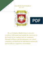 columbus middle school handbook  1