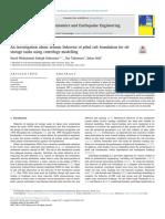 An investigation about seismic behavior of piled raft foundation for oil storage tanks using centrifuge modelling.pdf