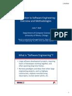 1 - Overview & Methodologies
