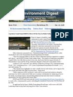 Pa Environment Digest Jan. 15, 2018