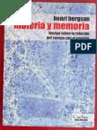 Materia y memoria - Henri Bergson.pdf