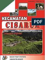 Kecamatan Cisarua Dalam Angka 2012