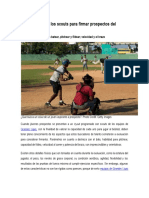 5 Parámetros de Los Scouts Para Firmar Prospectos Del Béisbol