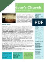 st saviours newsletter - 14 jan 2018