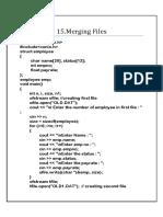 15.Merging Files