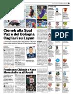 La Gazzetta Dello Sport 13-01-2018 - Serie B - Pag.1