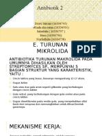 Ppt Antibiotik Makrolida-1