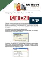 Instalar y configurar Filezilla – Cliente FTP para acender al Disco Virtual