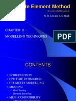 Finite Element Modeling Technics_chpt11
