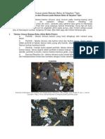 Tekstur Umum Dan Khusus Pada Batuan Beku Di Sayatan Tipis