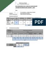 Informe Técnico Pedagogico - Access