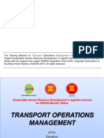 Principles of Logistics and Freight Transport | Transport