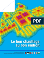 Le Bon Chauffage Au Bon Endroit