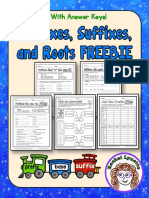 Prefixes Suffixes and Roots