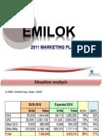 Emilok 2011 Mkt Plan