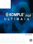 Komplete 10 Ultimate Setup Guide French