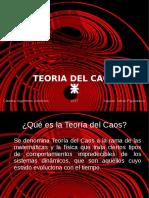 Presentacion Teoria Del Caos