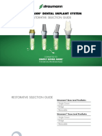 Straumann Catalogue Cementatble Abutments