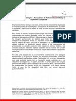 BCN Informe Comparado Colegios Profesionales 2014 v3