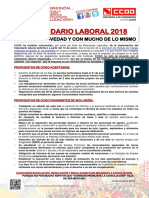 2368686-Comunicado Publicado Calendario Laboral 2018