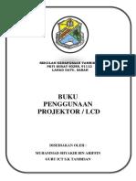 Buku Penggunaan Projrktor Dan Lcd