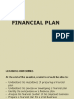 FINANCIAL PLAN.ppt