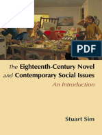 The Eighteenth Century Novel and Contemporary Social Issues an Introduction