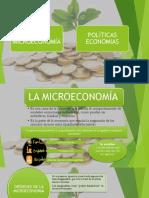 Diapositivas de Microeconomia y Politica Economica