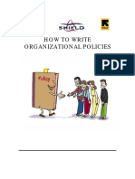 10.a Organizational Policy Development English