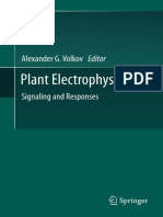Plant Electrophysiology Signaling and Responses