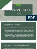 PPT Kebijakan dividen