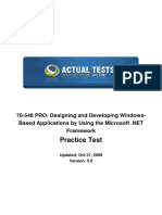 70-548- Designing and Developing Windows-App
