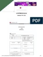 (Mobile) LC470WU4-SLA1 Datasheet PDF