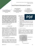 Fingerprint Based Patient Information System