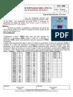 Manual de Inversor de Puerta WEG CFW-10