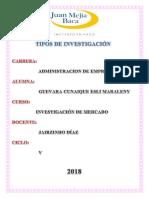 Tipos Investigacion Actualizado1111111