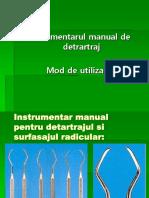 Detartrajul Manual 1