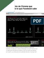 Facebook Introduce Medida Anti