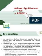 cours C# 8 Regex