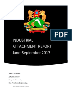 Kenya Pipeline Company Kenya Attachment Report