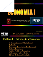 Slides Economia micro e macro