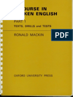 A Course Spoken English