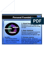 Personal Foundation Diagram