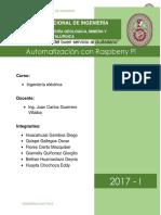 Automatización Rapsberry